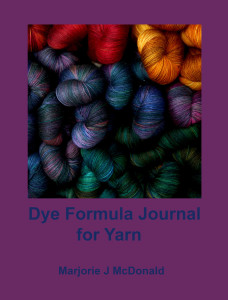 Dye Formula Journal for Yarns