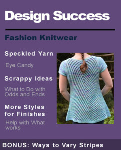 speckled yarn and scrappy ideas