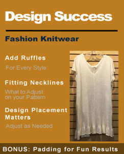 knit ruffles